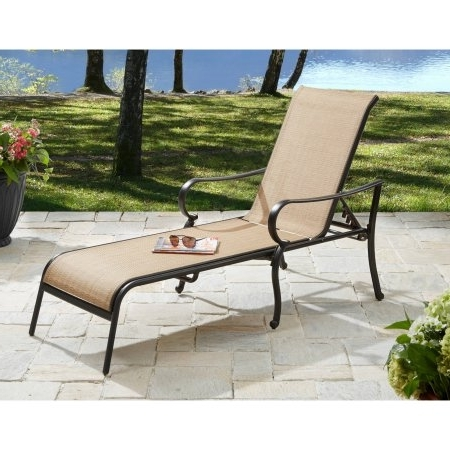Most Popular Chair Cheap Outdoor Lounge Chairs Walmart Within Patio Chaise For Outdoor Chaise Lounge Chairs At Walmart (View 10 of 15)