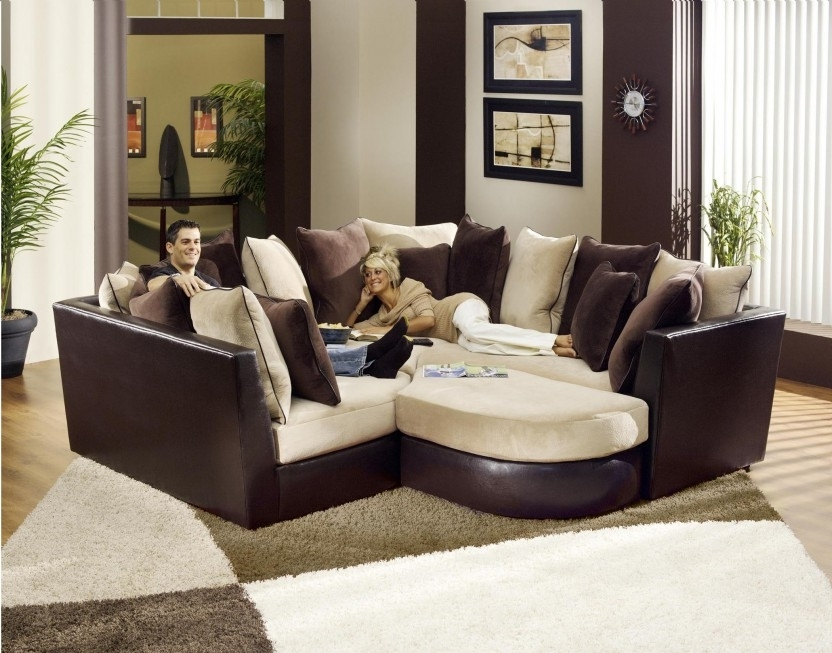 Most Popular Comfortable Sectional Sofas In Sectional Sofa Design: Most Comfy Sectional Sofa Best Ever Super (View 7 of 10)