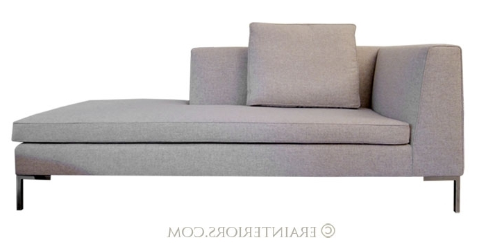 Most Popular Contemporary Chaise Lounges Pertaining To Contemporary Chaise Lounge Chairs Contemporary Chaise Lounge (View 11 of 15)