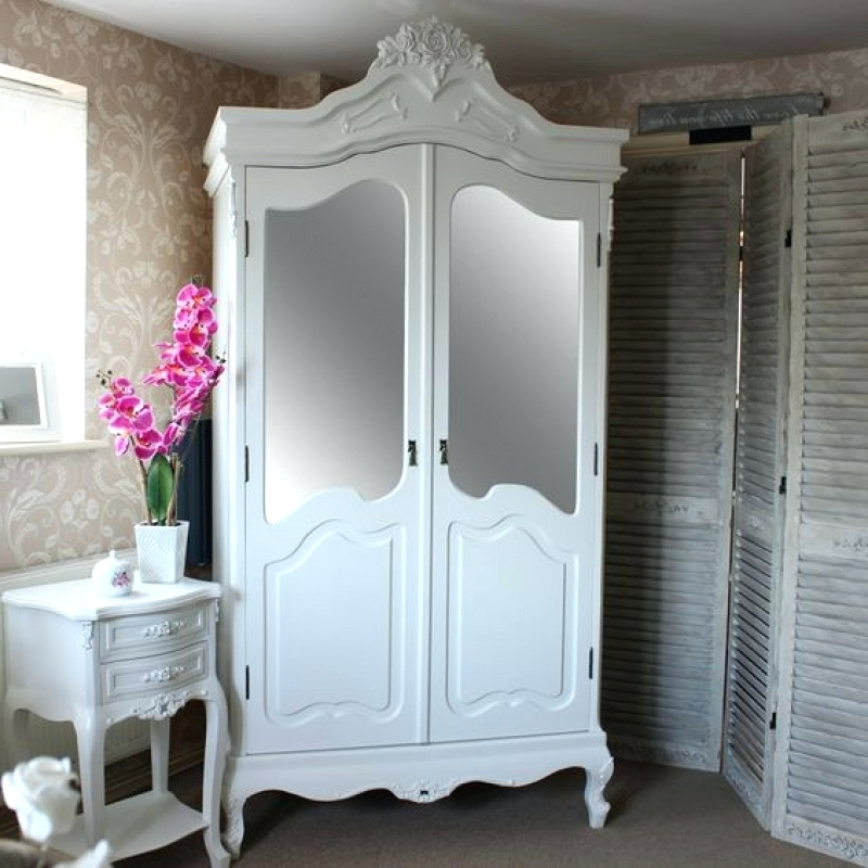 Most Popular Corner Mirrored Wardrobes For Wardrobes ~ White Mirrored Wardrobe Sale White Mirrored Corner (View 11 of 15)