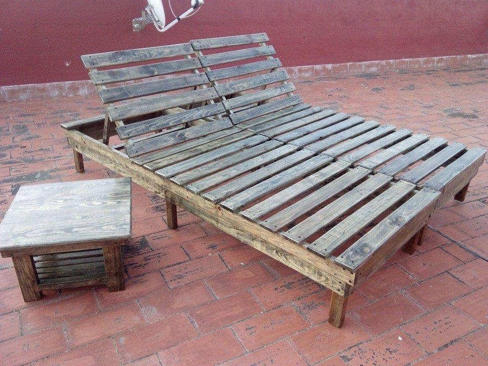 Most Popular Diy Chaise Lounges In Diy Pallet Chaise Lounge Chairs (View 10 of 15)