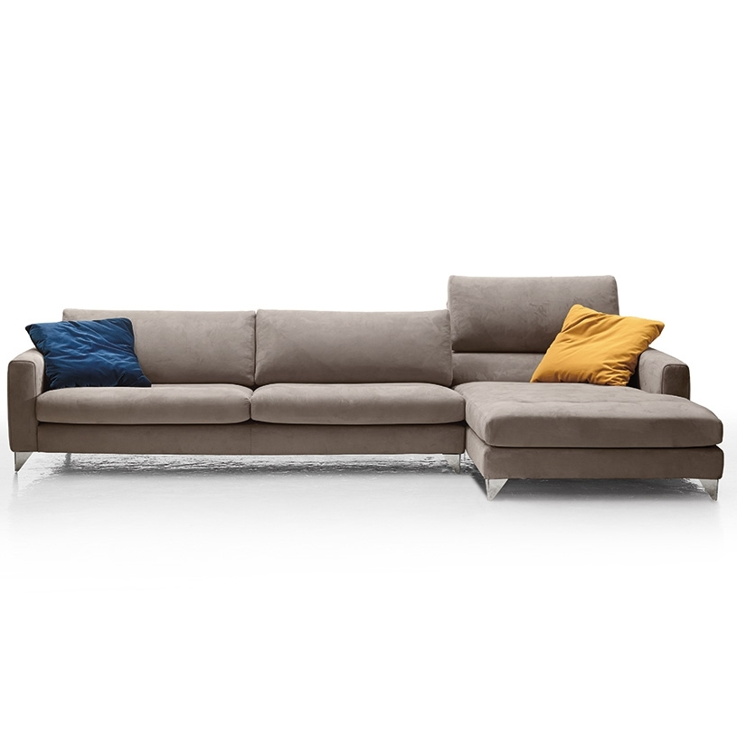 Most Popular Florence Large Sofas Pertaining To Florence Contemporary Italian Corner Sofa (View 7 of 10)