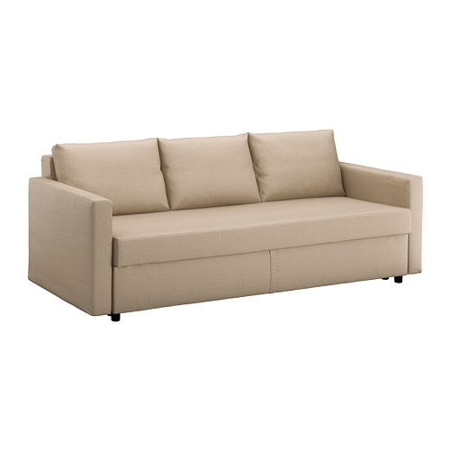 Most Popular Friheten Sleeper Sofa – Skiftebo Beige – Ikea Throughout Ikea Loveseat Sleeper Sofas (View 7 of 10)