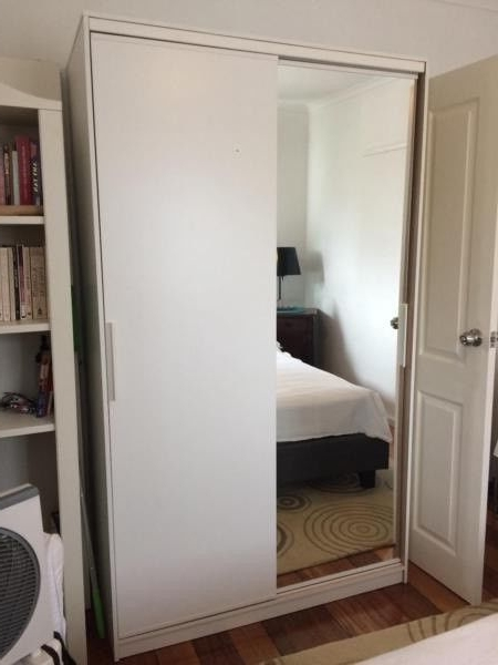 Most Popular Gorgeous White Wardrobe In Excellent Condition – $225 Bargain In Bargain Wardrobes (View 10 of 15)