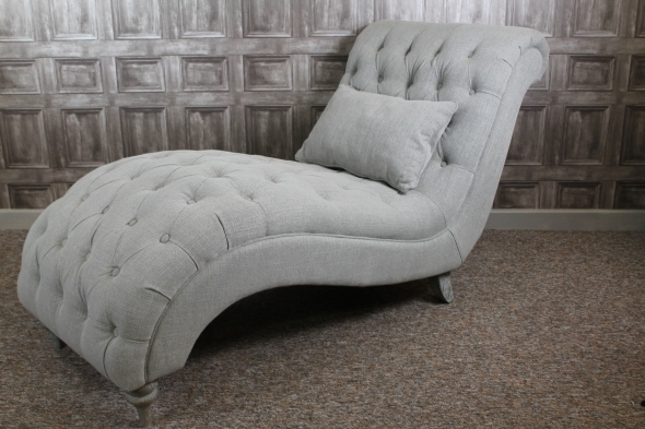 Most Popular Grey Chaise Lounge Chair – Goenoeng With Regard To Grey Chaise Lounge Chairs (View 11 of 15)