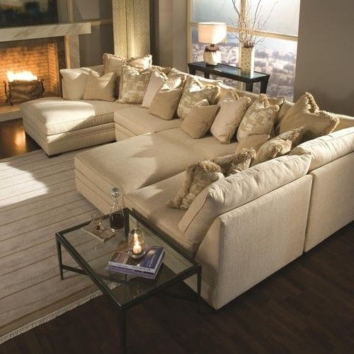 Most Popular Huntington House 7100 Contemporary U Shape Sectional Sofa With With Regard To Virginia Sectional Sofas (View 5 of 10)