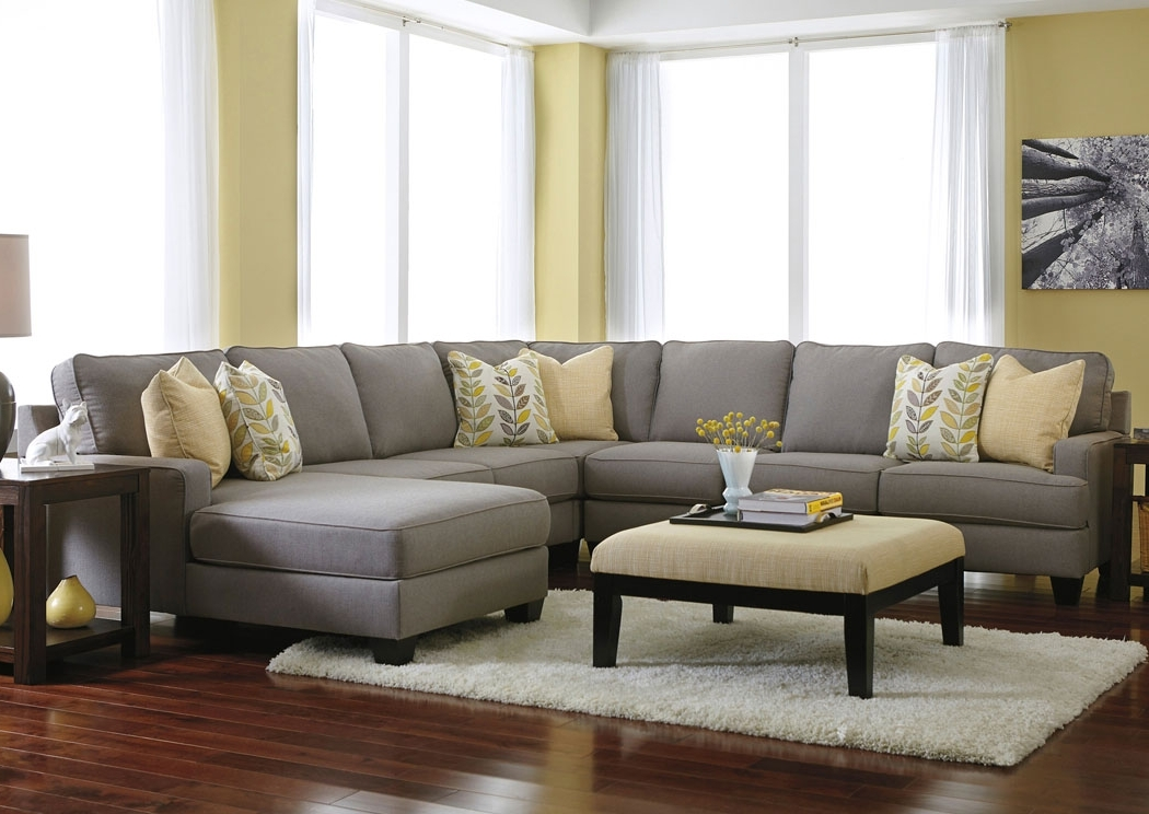 Most Popular Jennifer Convertibles Sectional Sofas Pertaining To Chelsea 4 Piece Sectional (View 9 of 10)