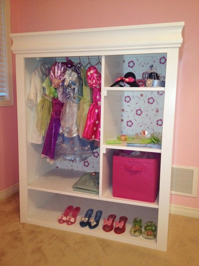Most Popular Kids Dress Up Wardrobes Closet Regarding Old Entertainment Center Turned Kids Armoire (View 10 of 15)