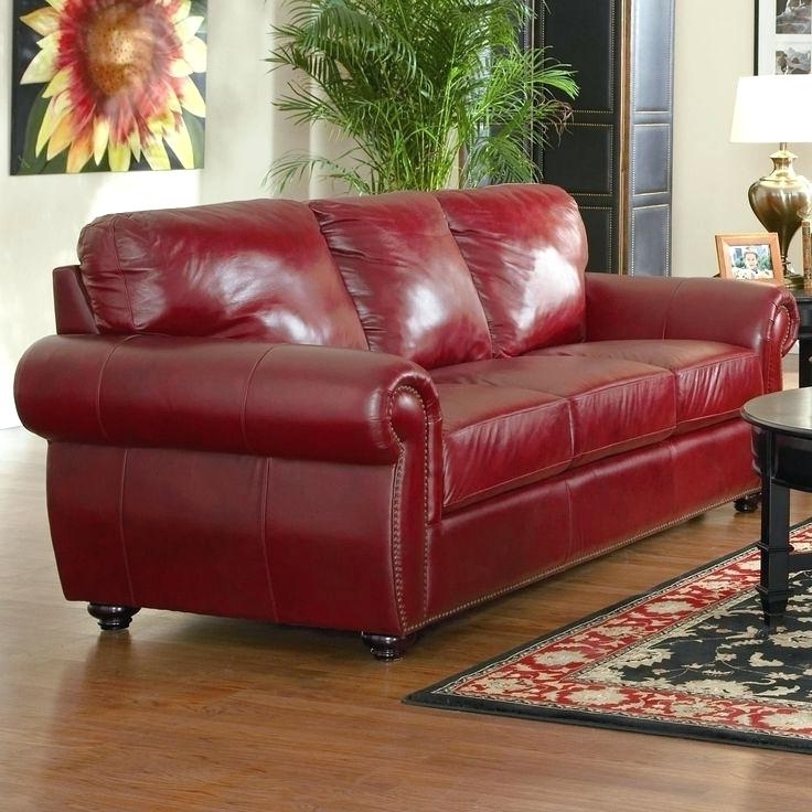 Most Popular Leather Sofas And Loveseats Power Reclining Sofas And Loveseats Throughout Red Leather Reclining Sofas And Loveseats (View 9 of 17)