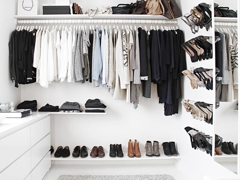 Most Popular Low Cost Wardrobes With Regard To A Walk In Closet On A Budget (Design And Form) (View 11 of 15)