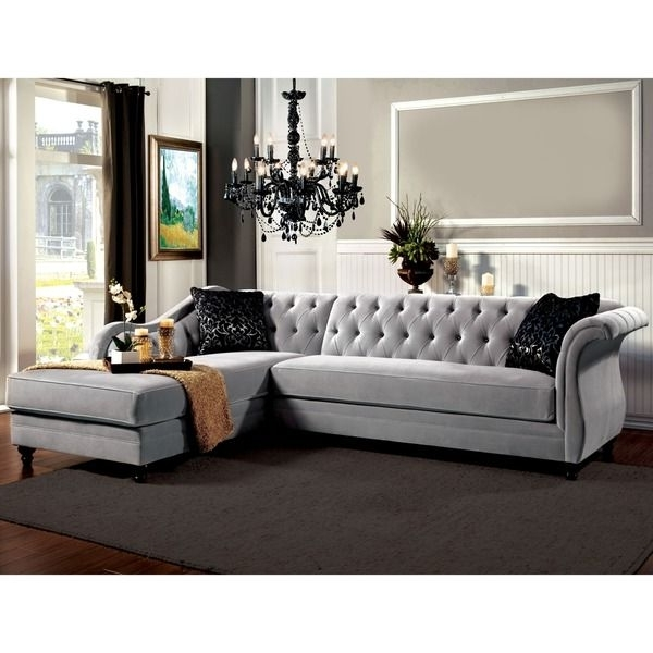 Most Popular New Tufted Sectional Sofas 57 With Additional Office Sofa Ideas In Tufted Sectional Sofas (View 4 of 10)