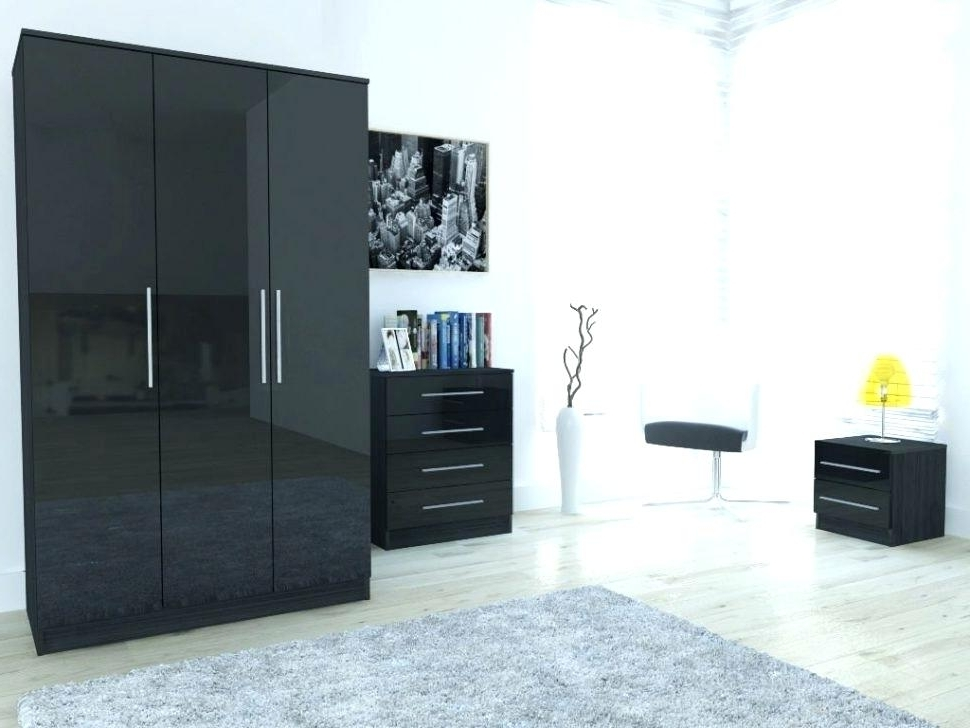Most Popular Ny Giants Bedroom Large Size Of Black And White Wardrobe Set With Regard To Black And White Wardrobes Set (View 12 of 15)