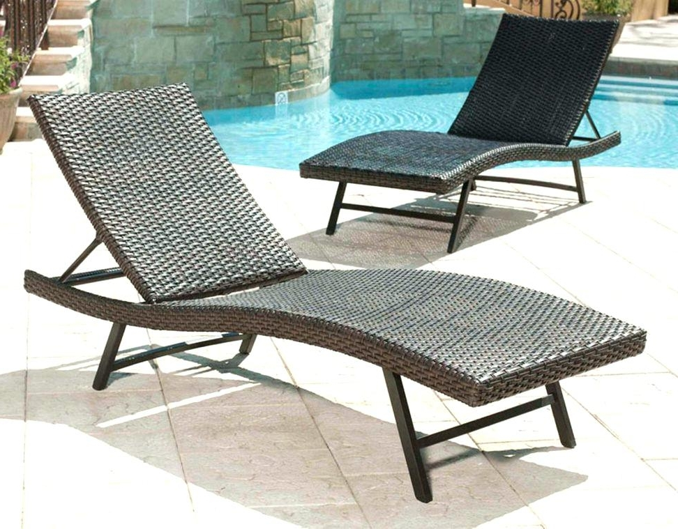 Featured Photo of Patio Chaise Lounge Chairs