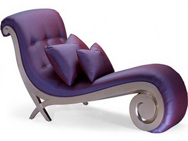 Most Popular Purple Chaise Lounges Pertaining To Purple Chaise Lounge Chair – Foter (View 7 of 15)
