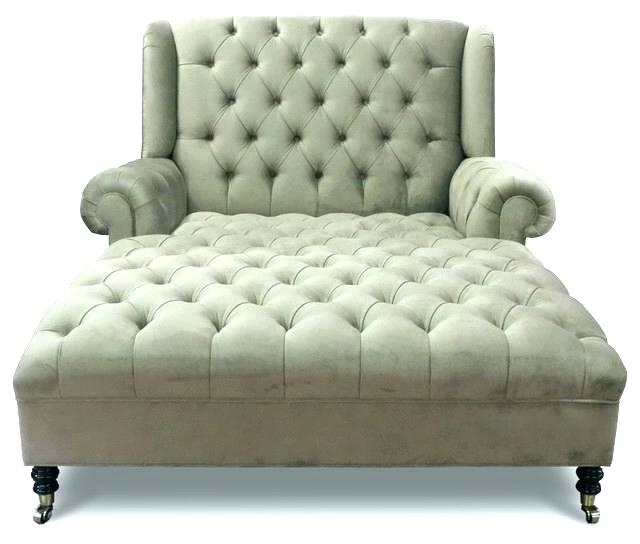 Most Popular Round Chaise Lounges Regarding Chaise Lounge For Two Person Indoor Chairs Design 0 Elegant (View 7 of 15)