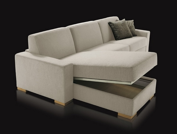 Most Popular Sectional Sofa Design: Wonderful Sectional Sofa With Storage For Sectional Sofas With Storage (View 3 of 10)