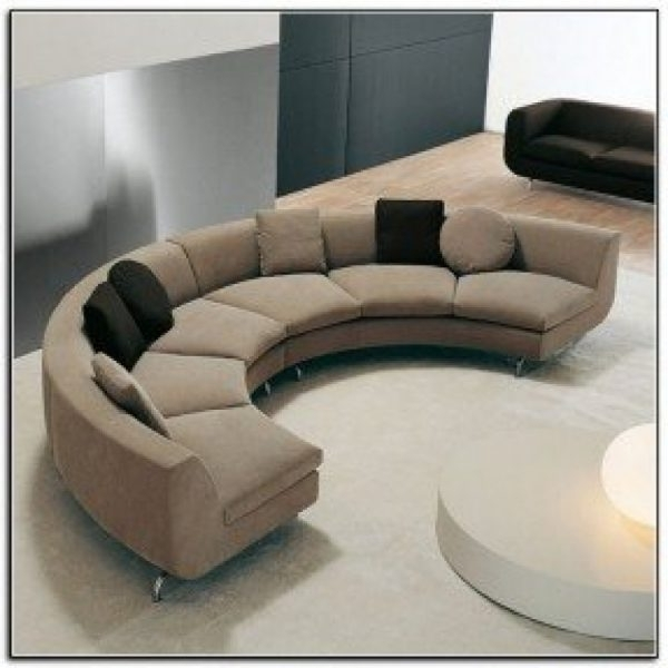 Most Popular Sectional Sofas: Curved Sectionals Sofas Foter In Semi Circular Pertaining To Semicircular Sofas (View 5 of 10)
