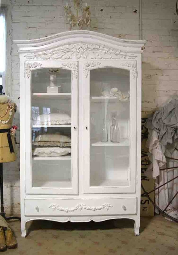 Most Popular Shabby Chic Armoires Inside Shabby Chic Wardrobes For Sale (View 6 of 15)