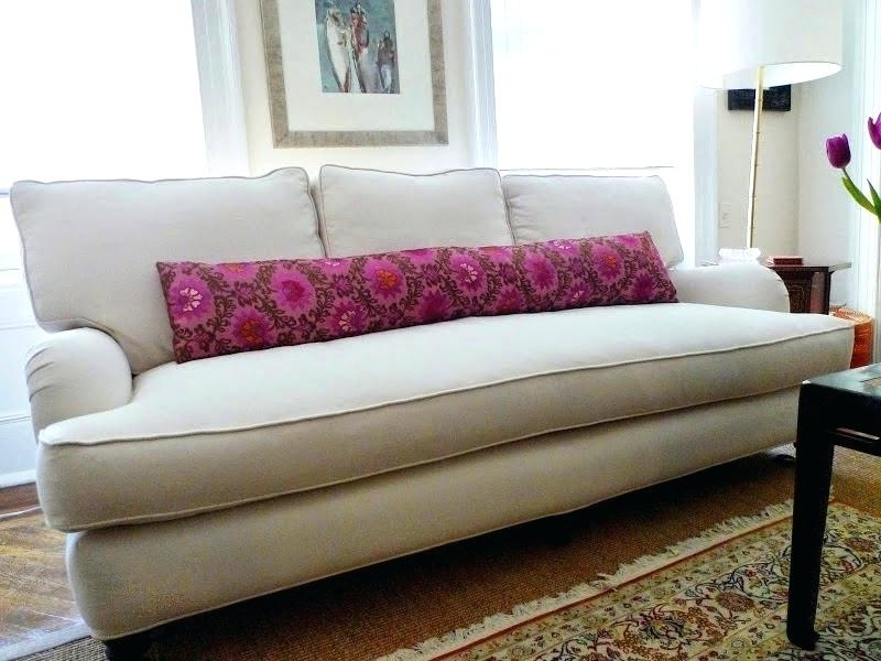 Most Popular Single Cushion Sofa Sofa With One Seat Cushion Charming Single Intended For One Cushion Sofas (View 2 of 10)