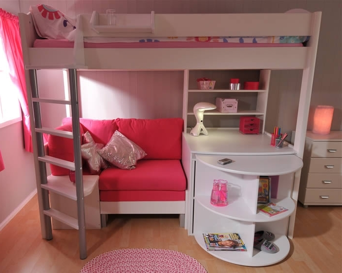Most Popular Stompa Casa 4 – High Sleeper Bed For High Sleeper Bed With Wardrobes (View 10 of 15)
