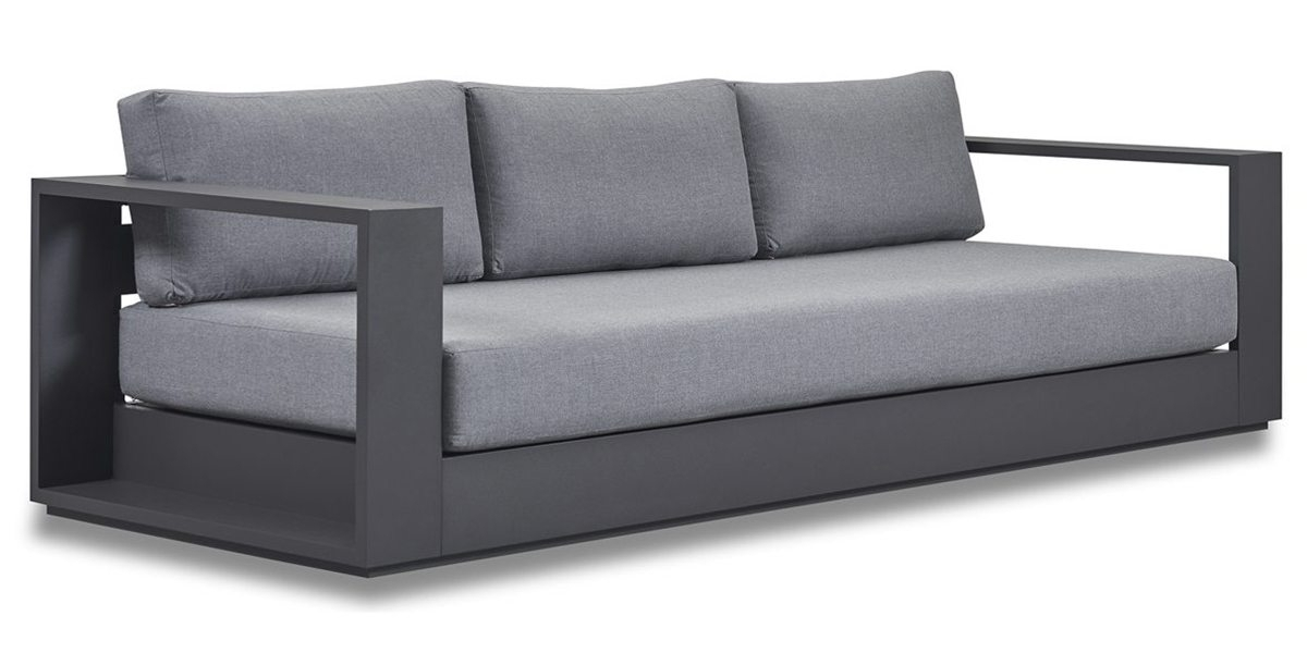 Most Popular Trinidad And Tobago Sectional Sofas In Hayman 3 Seat Sofa – Harbour Outdoor (View 6 of 10)