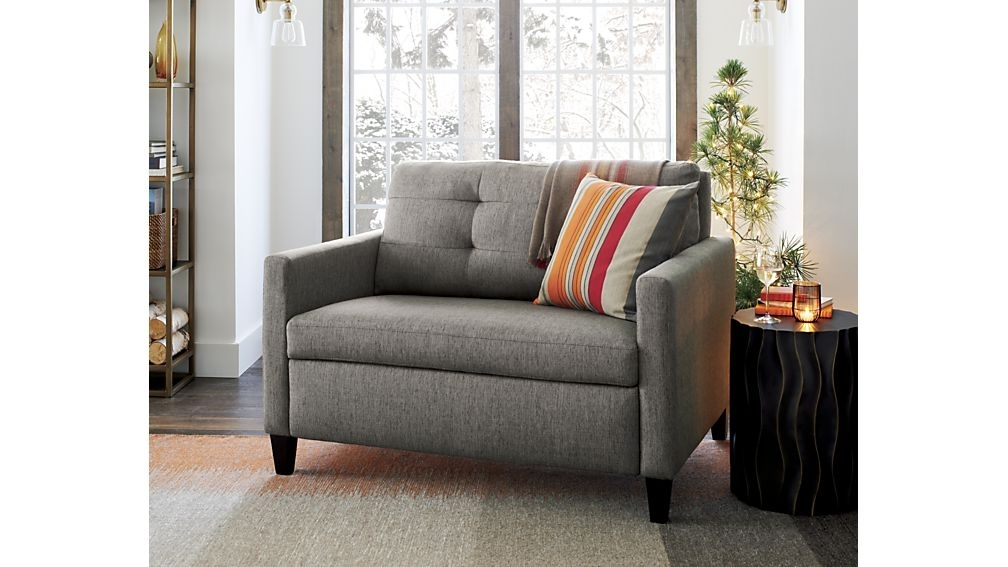 Most Popular Twin Size Sleeper Sofa Chairs Living Room (View 3 of 10)