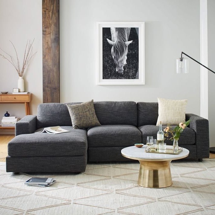 Most Popular Urban 2 Piece Chaise Sectional (View 3 of 10)