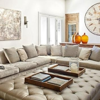 Most Popular Velvet Sectional Sofas With Crushed Velvet Sectional Sofa Design Ideas (View 6 of 10)