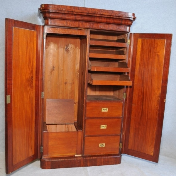 Most Popular Victorian Wardrobes Regarding A Victorian Mahogany Wardrobe (View 6 of 15)