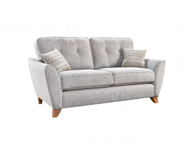 Most Recent 2 Seater Sofas Pertaining To Ashleigh 2 Seater Sofa – 2 Seater Sofas – Furniture World (View 7 of 10)