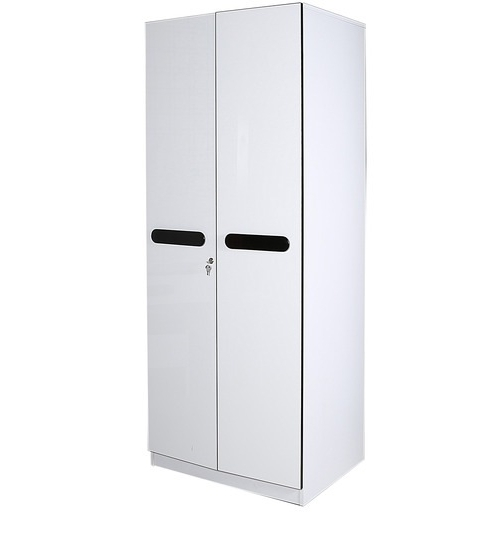 Most Recent Buy Stockton Two Door Wardrobe In Black & White Colourparin In Two Door White Wardrobes (View 5 of 15)