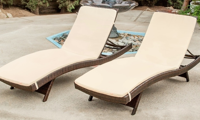 Most Recent Chaise Lounge Chairs At Kohls Throughout Lakeport Outdoor Lounge Chairs (View 11 of 15)