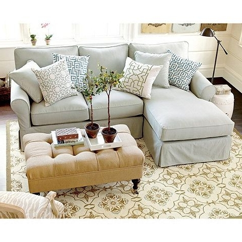 Most Recent Chaise Slipcovers Regarding Impressive Slipcover Sectional Sofa With Chaise Slipcovers For (View 12 of 15)
