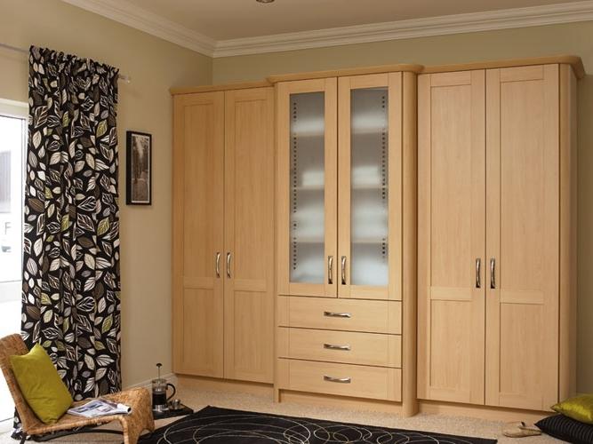Most Recent Cream Gloss Wardrobes Doors Regarding Woodworkers – Wardrobe Doors (View 7 of 15)
