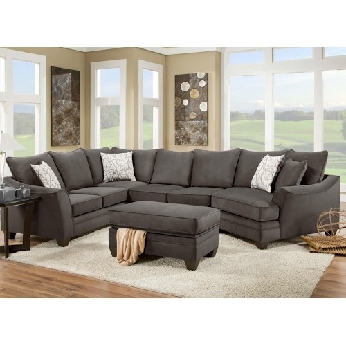 Most Recent Cuddler Sectional Sofas Throughout Glamorous Sectional Sofa With Cuddler Living Room Wingsberthouse (View 3 of 10)