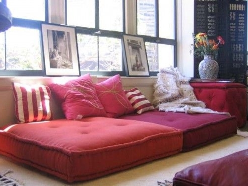 Featured Photo of Floor Cushion Sofas