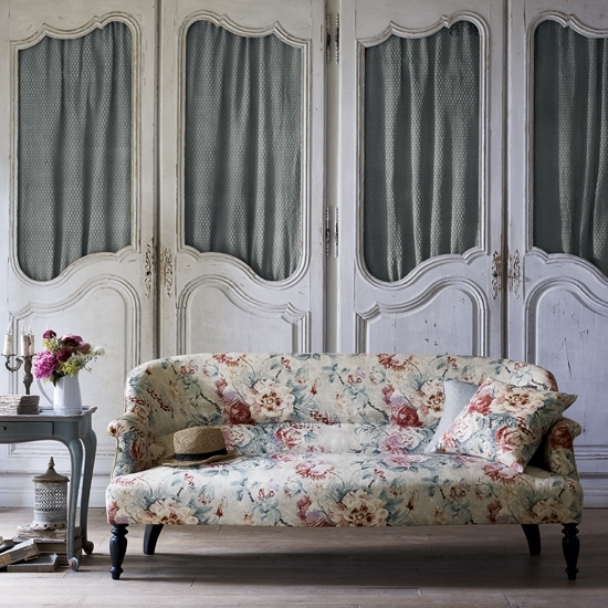 Most Recent Floral Print Sofa Trend For Spring  (View 6 of 10)