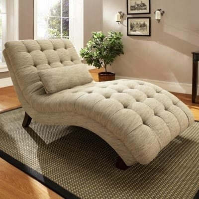 Most Recent Impressive Living Room Chaise Lounge Chairs Pleasant Double Lofty Inside Double Chaises (View 6 of 15)