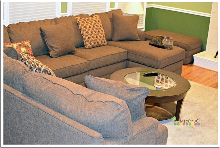 Most Recent La Z Boy Sectional Sofas For Amazing Living Rooms : Home Makeover Our New La Z Boy Living Room (View 9 of 10)