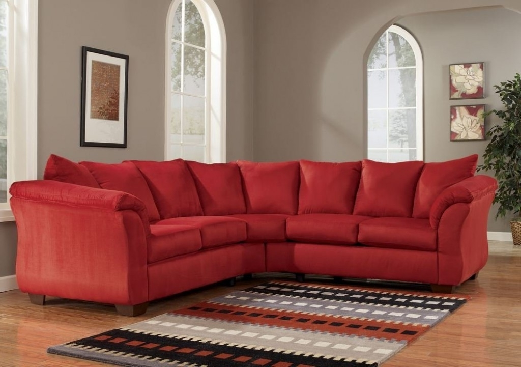 Most Recent Red Sectional Sofas Intended For How To Decorate Your Room Using Red Sectional – Elites Home Decor (View 3 of 10)