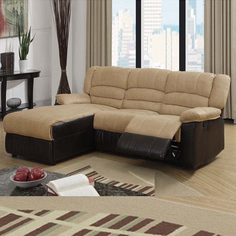 Best 10 of Sectional Sofas For Small Spaces With Recliners