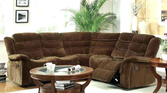 Most Recent Sectional Sofas With Recliners For Small Spaces With Fashionable Small Reclining Sectional Recliner Sectional Sofas (View 2 of 10)