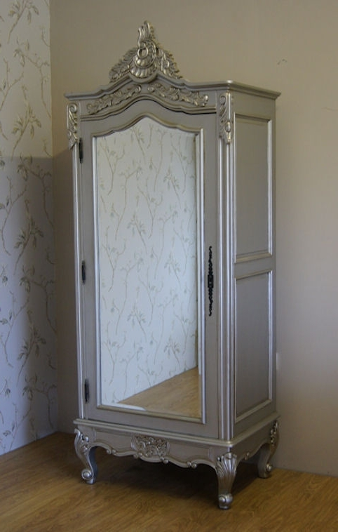 Most Recent Silver Wardrobes In Painted Armoires And Wardrobes (View 5 of 15)