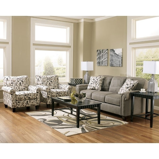 Most Recent Traditional Captivating Gusti Dusk Sofa Set W Accent Chairs Intended For Sofa And Accent Chair Sets (View 2 of 10)
