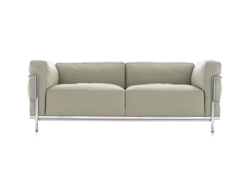 Most Recent Two Seater Sofas Inside Buy The Cassina Lc3 Two Seater Sofa At Nest.co (View 5 of 10)