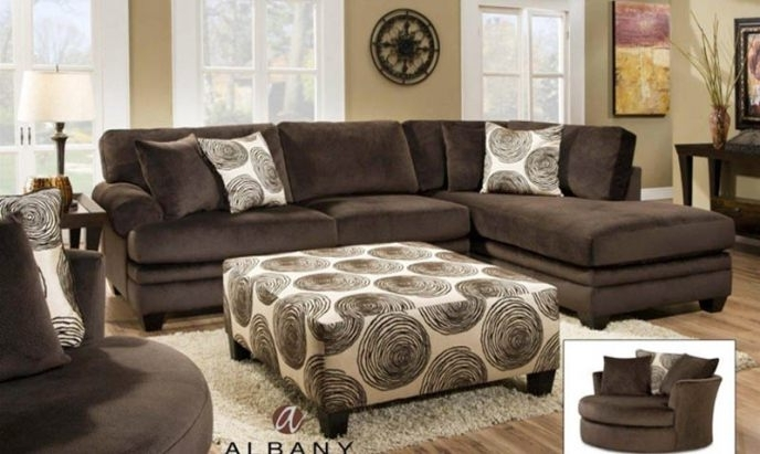 Most Recent Valdosta Ga Sectional Sofas With Regard To Exceptional Farmers Furniture Valdosta Ga #2 Groovy Chocolate (View 3 of 10)