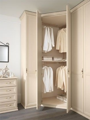 Featured Photo of White Corner Wardrobes Units