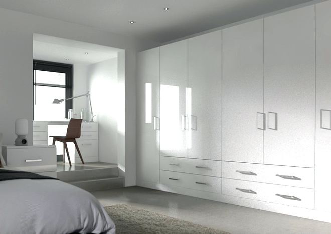 Most Recent White Gloss Wardrobes Sets In Wardrobes ~ White High Gloss Wardrobe Sets High Gloss Hinged (View 7 of 15)