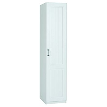 Most Recent White Single Door Wardrobes With Regard To Century Single Wardrobe – 1 Door – Pearl White Finish: Amazon (View 10 of 15)