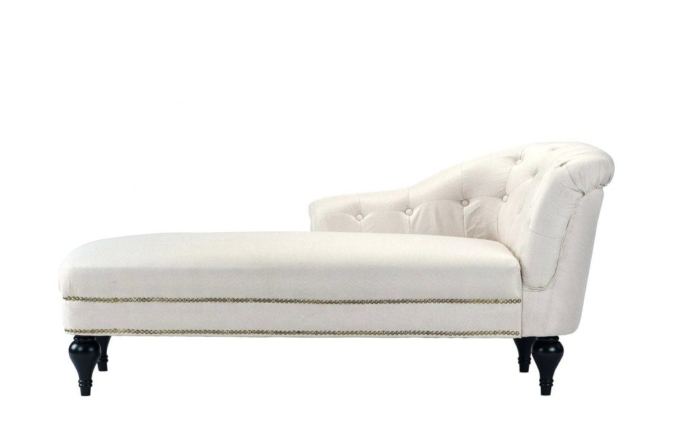 Most Recently Released Alessia Chaise Lounge Tufted Chairs Within Tufted Leather Lounge Chair Tufted High Back Lounge Chair Alessia (View 9 of 15)